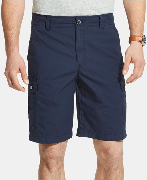 G.H. Bass & Co. Men's Salt Cove Stretch Moisture-Wicking Ripstop Cargo Shorts