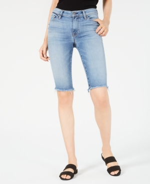 Hudson Shorts AMELIA DENIM BERMUDA SHORTS