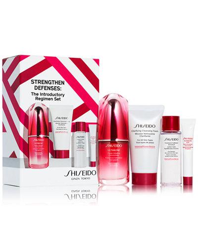 Shiseido 4-Pc. Strengthen Defenses Introductory Regimen Set