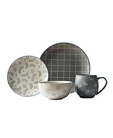 Lea 16 Piece Dinnerware Set
