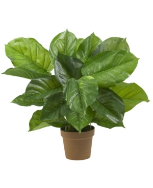 Nearly Natural Large Leaf Philodendron Silk Plant - Real Touch