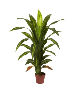 Nearly Natural 4' Dracaena Silk Plant - Real Touch
