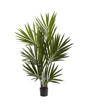 Nearly Natural 4' Kentia Palm Silk Tree