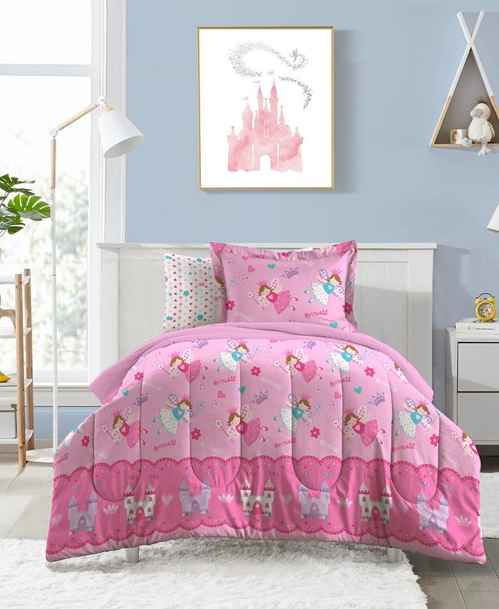 Dream Factory - Magical Princess Toddler Comforter Set