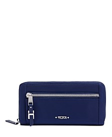 Tumi Voyageur Zip-Around Continental Wallet