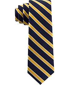 Tommy Hilfiger Toddler & Little Boys Red Stripe Silk Tie