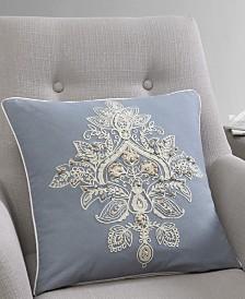 Katarina Embroidered 18x18 Pillow