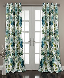 "Floral Paisley 52"" x 95"" Curtain Set"