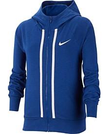 Nike Big Girls Sportswear Full-Zip Cotton Hoodie