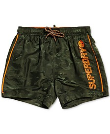 "Men's Camouflage 23"" Swim Trunks, Created for Macy's"