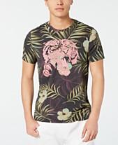 19cfa52a GUESS Men's Jungle Tiger Graphic T-Shirt