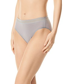 Warner's Women's Breathe Freely™ Lace Trim Hi-Cut Brief RT4901P