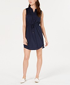 Printed Sleeveless Shirt-Dress, Created for Macy's