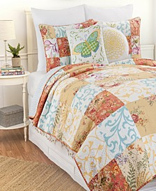 Francesca Full Queen 3 Piece Quilt Set