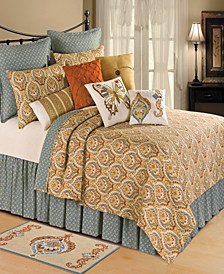 Mandalay King 3 Piece Quilt Set