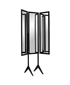 Mirrotek Free Standing Triple View 3 Way Bedroom Dressing Mirror