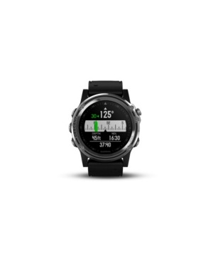 Garmin Watches DESCENT MK1 WATCH-STYLE DIVE COMPUTER IN BLACK AND SILVER SAPPHIRE