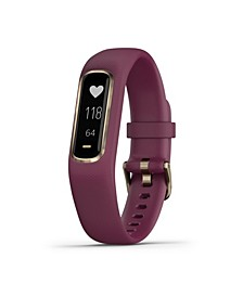 vívosmart 4 Activity Tracker in Berry and Gold, S/M