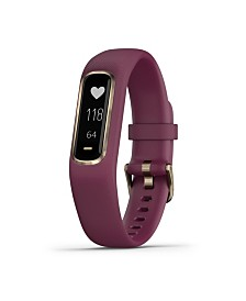 Garmin Vivosmart 4 Activity Tracker in Berry and Gold