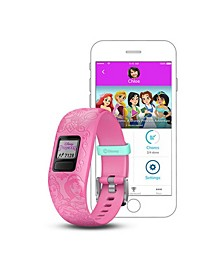vívofit jr. 2 Disney Princess Kids Activity Tracker in Pink