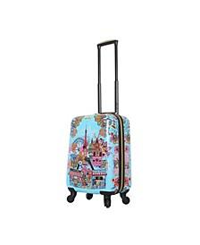 "Car Pintos Ohalina La La 20"" Hardside Spinner Luggage"