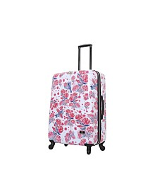 "Halina Car Pintos Fly 28"" Hard Side Spinner Suitcase"