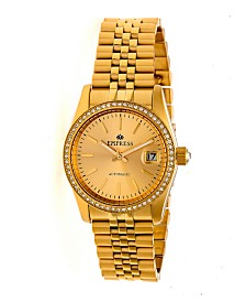 Empress Constance Automatic Gold Stainless Steel Watch 37mm