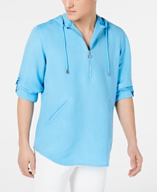 I.N.C. Men's Half-Zip Hoodie, Created for Macy's