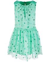 d0263621c Hello Kitty Little Girls Foil-Print Mesh Dress, Created for Macy's