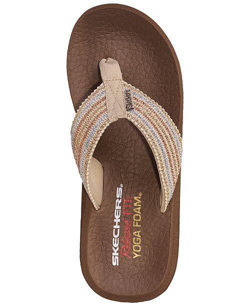 3b2869a9f ... Skechers Women s Asana Flip-Flop Thong Sandals from Finish Line ...