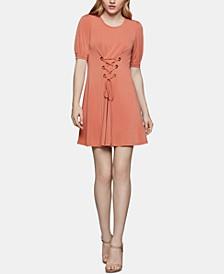 Corset-Front A-Line Dress