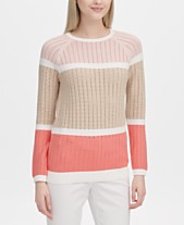 6ae017c74ab Calvin Klein Colorblocked Sweater