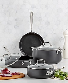Hard Anodized Nonstick 7-Pc. Set, Created for Macy's