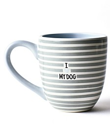Stone I Love My Dog Mug