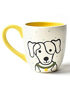 by Laura Johnson Pet Spotty Dog Portrait Mug