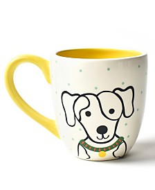 Coton Colors Pet Spotty Dog Portrait Mug