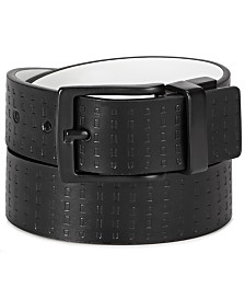 "Levi's Big Boys 1-1/4"" Embossed Reversible Belt"