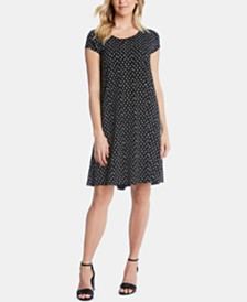 Karen Kane Maggie Printed Trapeze Dress