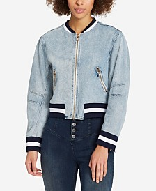 Skinny Girl Denim Bomber