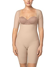 Undetectable Open Bust Shorty Body Shaper Jumpsuit
