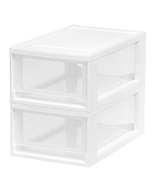Iris Small 2 Pack Stacking Drawer