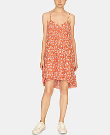 Sanctuary Spring Ahead Printed Pleated Dress