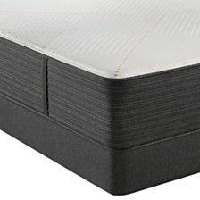 "Beautyrest Hybrid BRX3000-IM 14.5"" Firm Mattress Set - Queen Split"