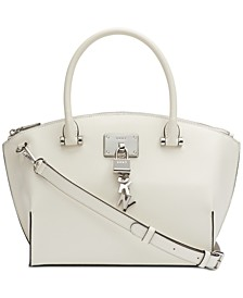 Elissa Top-Zip Pebble Satchel, Created for Macy's