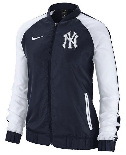 Nike Women's New York Yankees Varsity Track Jacket