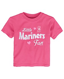 Outerstuff Toddlers Seattle Mariners Girly Fan T-Shirt
