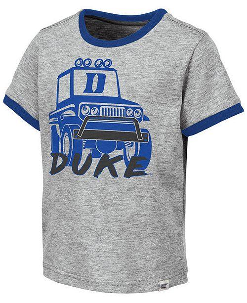 Colosseum Toddlers Duke Blue Devils Monster Truck T-Shirt