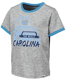 Colosseum Toddlers North Carolina Tar Heels Monster Truck T-Shirt