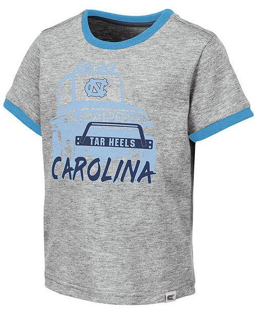 Colosseum Toddlers North Carolina Tar Heels Monster Truck T-Shirt