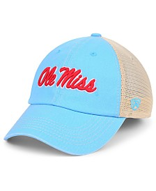 Top of the World Ole Miss Rebels Wicker Mesh Snapback Cap
